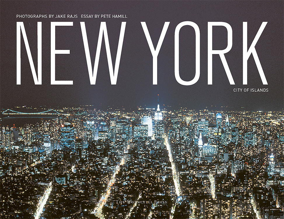 New York City of Islands, Book Signed by Jake Rajs, Essay by Pete Hamill