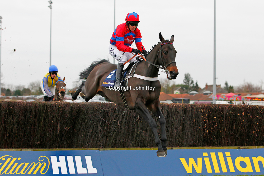 Sprinter Sacre and Barry Geraghty winning the 1.25 race