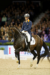 Van Silfhout Diederick (NED) - Arlando <br /> Reem Acra FEI World Cup Dressage<br /> Jumping Amsterdam 2016<br /> © Hippo Foto - Dirk Caremans<br /> 30/01/16