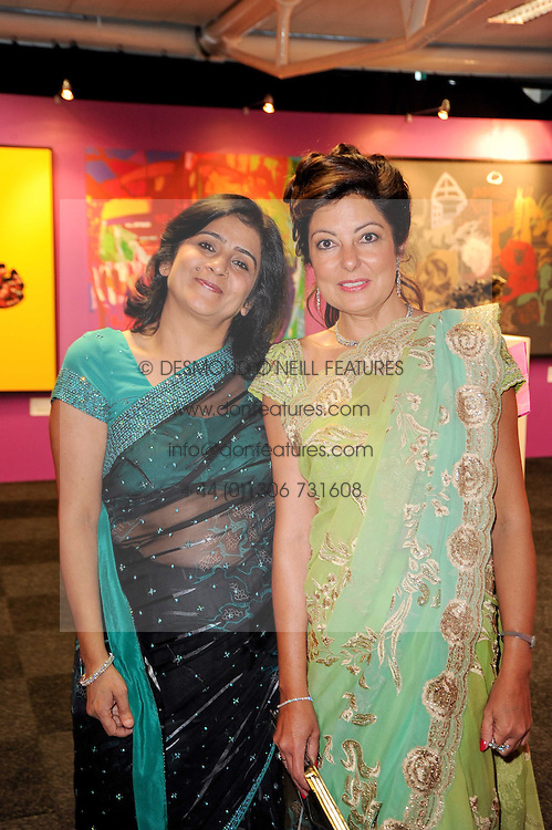 Left to right, CHAWLA JONSHI and SANGETTA TALUKDAR at ARTiculate, Pratham UK Fundraising Gala held at The Old Billingsgate Market, City Of London on  11th September 2010 *** Local Caption *** Image free to use for 1 year from image capture date as long as image is used in context with story the image was taken.  If in doubt contact us - info@donfeatures.com<br /> Left to right, CHAWLA JONSHI and SANGETTA TALUKDAR at ARTiculate, Pratham UK Fundraising Gala held at The Old Billingsgate Market, City Of London on  11th September 2010