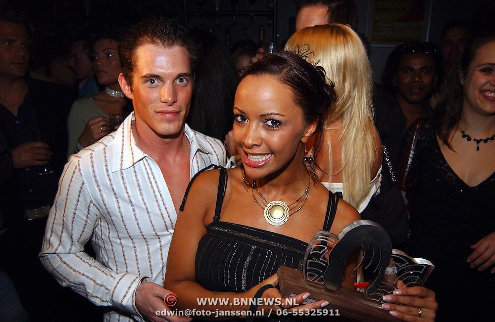 Verjaardag Sonja Silva, met Yorrick Bakker