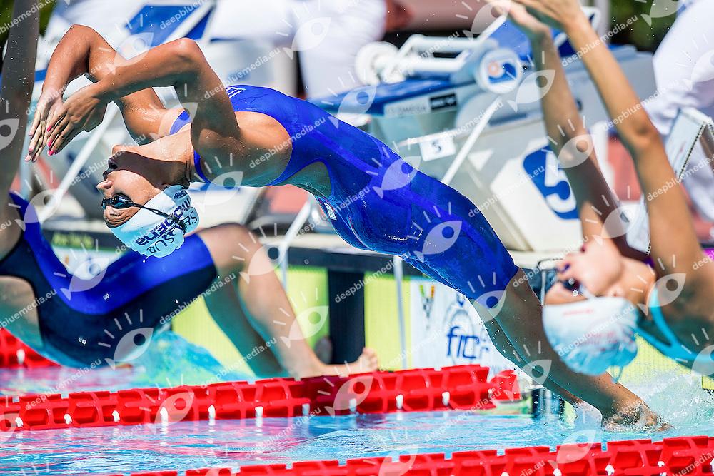 Tania Quaglieri ITA <br /> Seasub Modena<br /> 50 Dorso Donne<br /> Stadio del Nuoto, Roma<br /> Day 06 09-08-2016<br /> Campionati Italiani di Categoria 2016<br /> Photo Andrea Masini/Deepbluemedia/Insidefoto