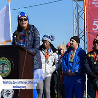 Special Olympics Chicago Polar Plunge at North Ave. Beach, Chicago, Ill. Sunday, March 4, 2018.