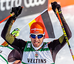 24.02.2017, Lahti, FIN, FIS Weltmeisterschaften Ski Nordisch, Lahti 2017, Nordische Kombination, Langlauf, im Bild Bronzemedaillen Gewinner Bjoern Kircheisen (GER) // Bronze Medalist Bjoern Kircheisen of Germany during Cross Country of Nordic Combined competition of FIS Nordic Ski World Championships 2017. Lahti, Finland on 2017/02/24. EXPA Pictures © 2017, PhotoCredit: EXPA/ JFK