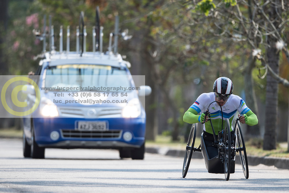 JERALIC Primoz, SLO, H5, Cycling, Time-Trial at Rio 2016 Paralympic Games, Brazil