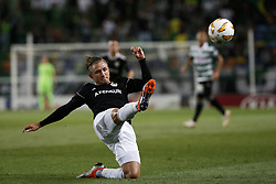 September 20, 2018 - Lisbon, Portugal - Jakub Rzezniczak of Qarabag FK  in action  during Europa League 2018/19 match between Sporting CP vs Qarabagh FK, in Lisbon, on September 20, 2018. (Credit Image: © Carlos Palma/NurPhoto/ZUMA Press)