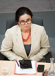 12.06.2019, Hofburg, Wien, AUT, Parlament, Nationalratssitzung, Sitzung des Nationalrates mit Vorstellung der Übergangsregierung, im Bild Sozialministerin Brigitte Zarfl // Austrian Social Minister Brigitte Zarfl during meeting of the National Council of austria at Hofburg palace in Vienna, Austria on 2019/06/12, EXPA Pictures © 2019, PhotoCredit: EXPA/ Michael Gruber
