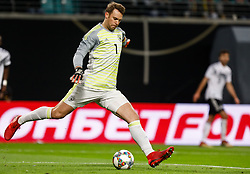 November 15, 2018 - Leipzig, Germany - Manuel Neuer of Germany in action during the international friendly match between Germany and Russia on November 15, 2018 at Red Bull Arena in Leipzig, Germany. (Credit Image: © Mike Kireev/NurPhoto via ZUMA Press)