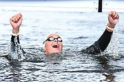 Sharon Van Rouwendal (NED) competes and wins the Gold medal on Women's 10 kms Open water during the Swimming European Championships Glasgow 2018, at Tollcross International Swimming Centre, in Glasgow, Great Britain, Day 9, on August 10, 2018 - Photo Stephane Kempinaire / KMSP / ProSportsImages / DPPI