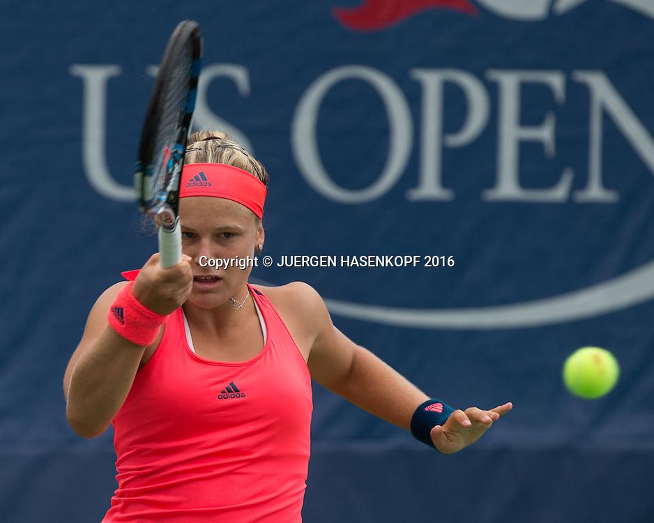 MIRA ANTONITSCH (AUT) Junior GS<br /> <br /> Tennis - US Open 2016 - Grand Slam ITF / ATP / WTA -  USTA Billie Jean King National Tennis Center - New York - New York - USA  - 6 September 2016.