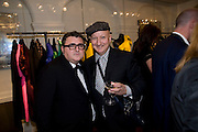 ALBER ELBAZ; STEPHEN JONES The Launch of the Lanvin store on Mount St. Presentation and cocktails.  London. 26 March 2009