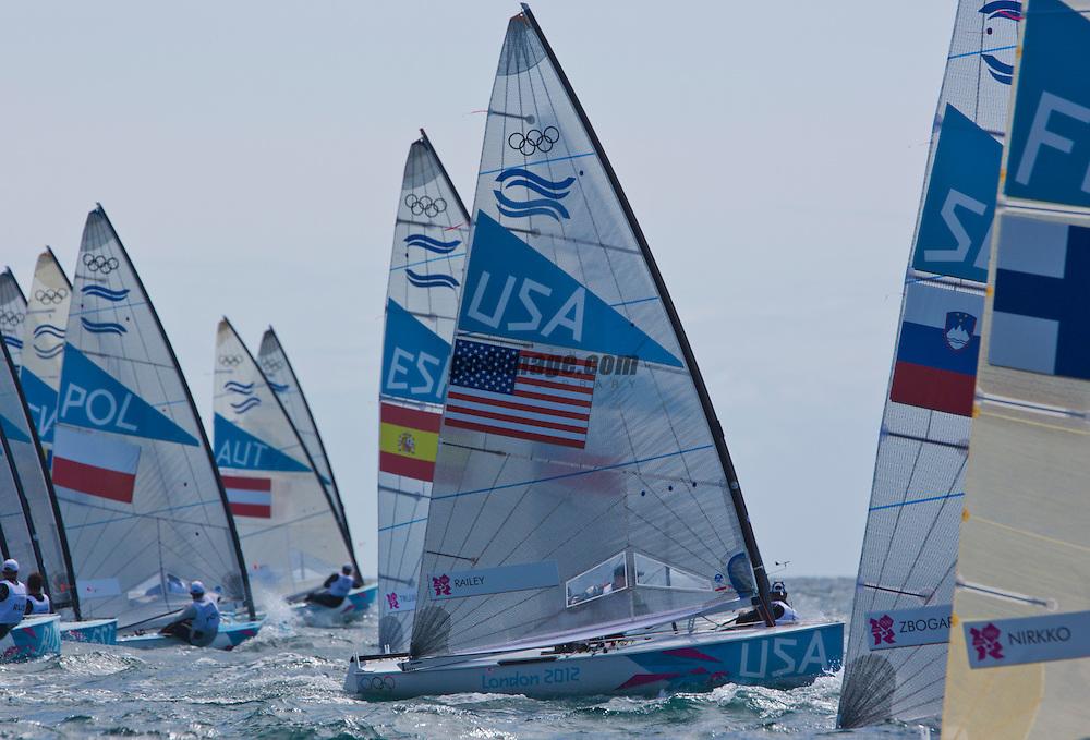Finn USARailey Zach<br /> <br /> 2012 Olympic Games <br /> London / Weymouth
