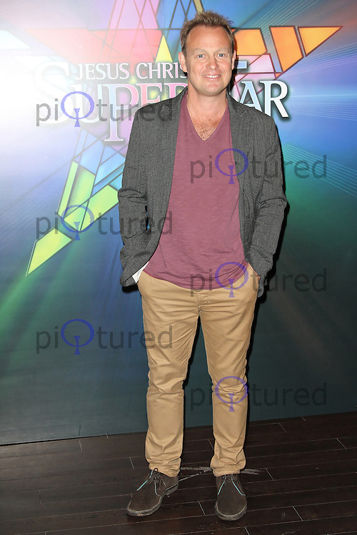 LONDON - SEPTEMBER 21: Jason Donovan attended the Launch Night of 'Jesus Christ Superstar' at the O2 Arena, Greenwich, London, UK. September 21, 2012. (Photo by Richard Goldschmidt)