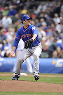 CHICAGO - MAY 17:  Matt Harvey #33 of the New York Mets pitches against the Chicago Cubs on May 17, 2013 at Wrigley Field in Chicago, Illinois.  The Mets defeated the Cubs 3-2.  (Photo by Ron Vesely/MLB Photos via Getty Images)  *** Local Caption *** Matt Harvey