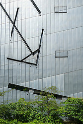 Modern exterior of Jewish Museum in Kreuzberg Berlin Germany