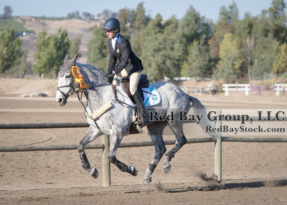 Elisabeth Halliday-Sharp (USA) and HHS Cooley at the Galway Downs International Three Day Event in Temecula, California.