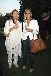Left to right, LIZ BROWN and HENRIETTA SITWELL at a party to celebrate the 100th issue of Waitrose's Food Illustrated magazine held at The Physic Garden, Chelsea, London on 13th September 2007.<br /><br />NON EXCLUSIVE - WORLD RIGHTS