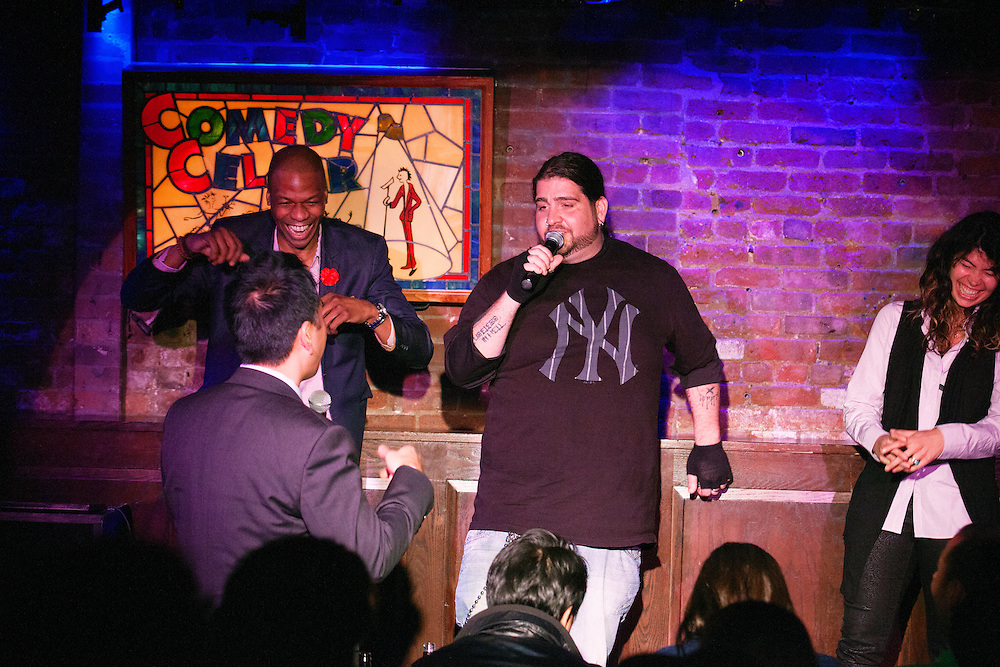 """Jay Oakerson's """"What's Your F@#king Deal?!"""", with Dave Attell, Dan Soder, Luis Gomez, Keith Robinson, Bonnie McFarlane, and Ardie Fuqua"""