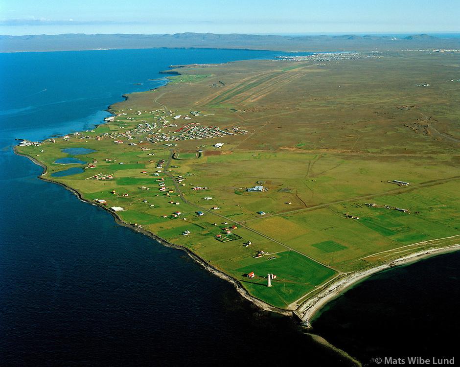 Sveitarfélagið Garður séð til austsuðausturs / Sveitarfelagid Gardur viewing eastsoutheast