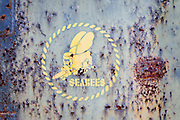 Seabees logo, Midway Atoll.