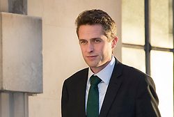 © Licensed to London News Pictures. 29/01/2018. London, UK. Defence Secretary Gavin Williamson arrives at the Ministry of Defence. Mr Williamson has faced criticism over his actions in his private life before he became an MP. Photo credit: Peter Macdiarmid/LNP
