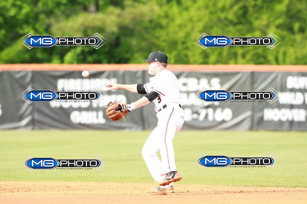 April 26,2013 Hoover High School Baseball vs Tuscaloosa County High School