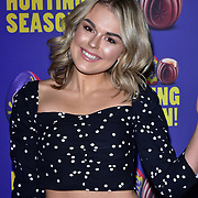 Tallia Storm arrives at the Creme Egg Camp - grand opening at its Shoreditch pop-up with an evening of themed cocktails and treats on 18th January 2018, London, UK.
