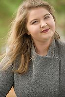Kate P senior portrait session at Opechee Cove.  ©2016 Karen Bobotas Photographer