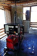The town generator in La Bajada, Pinar del Rio, Cuba.