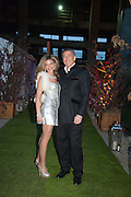 LISA TCHENGUIZ; STEVE VORSARI, Gabrielle's Gala 2013 in aid of  Gabrielle's Angels Foundation UK , Battersea Power station. London. 2 May 2013.