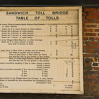 1905 toll bridge tarifs