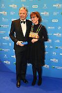 &copy;www.agencepeps.be/ F.Andrieu - Belgique -Bruxelles - 140201 - Les Magrittes du cin&eacute;ma ont r&eacute;compens&eacute; comme chaque ann&eacute;e les professionnels du cin&eacute;ma belge. Belgium cin&eacute; awards the &quot;Magritte of the cinema&quot;<br /> Pics: Ministre Reynders et son &eacute;pouse