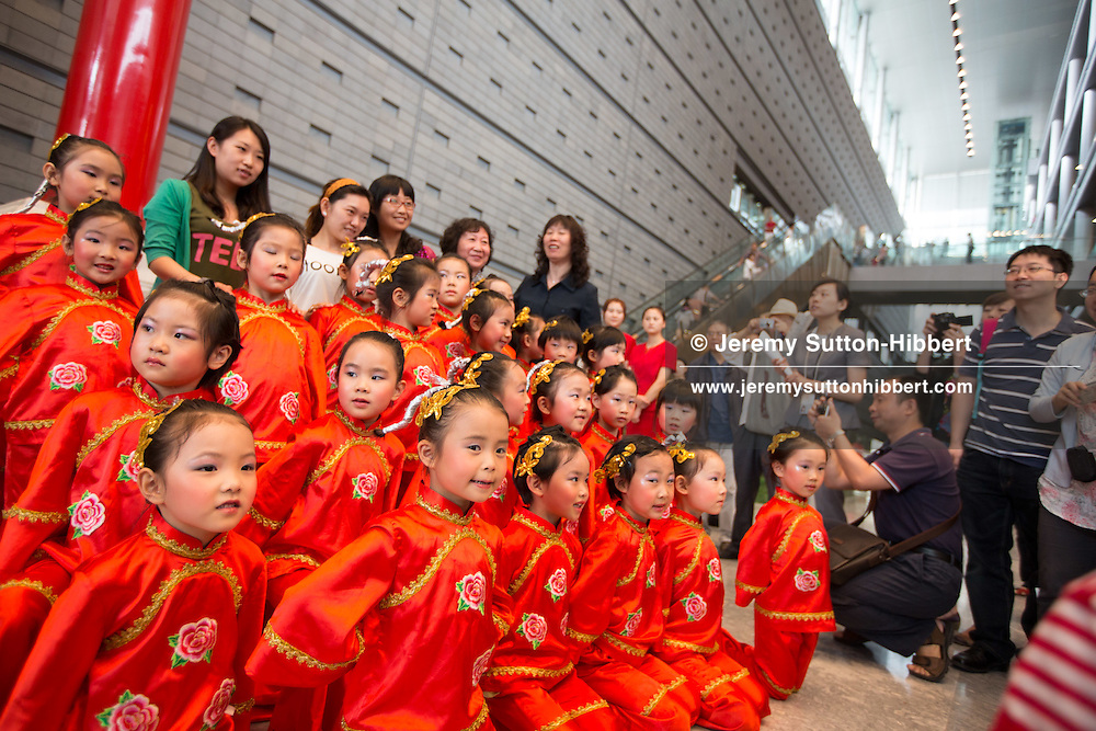 Inside the Capital Museum, on National Children's Day,  in Beijing, China, Friday 1st June 2012.