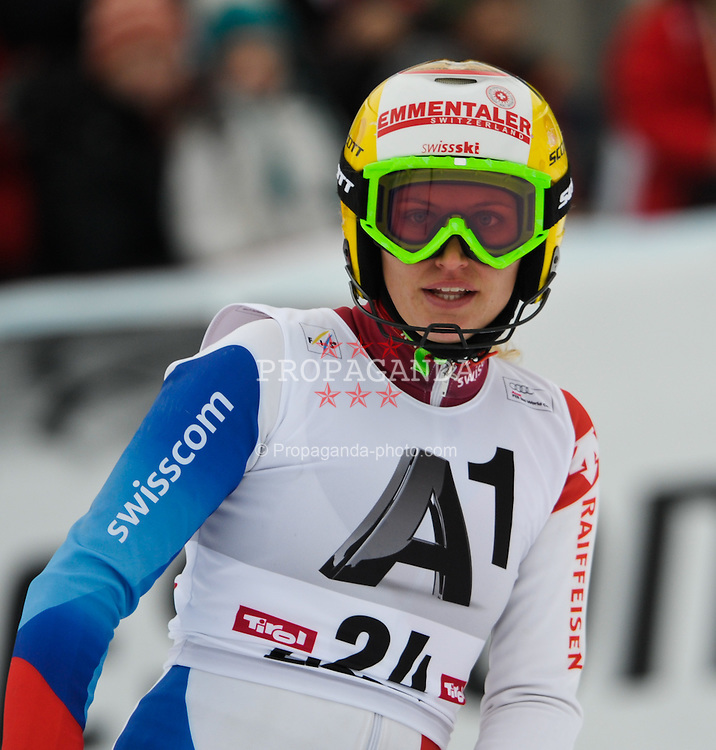 29.12.2011, Hochstein Weltcupstrecke, Lienz, AUT, Damen, Slalom, nach 2. Durchgang, im Bild Fabienne Suter SUI // after Slalom second Run at FIS Ski Worldcup at Worldcupcourse Hochstein in Lienz, 29-12-2011, EXPA Pictures © 2011, PhotoCredit: EXPA/ M. Gruber