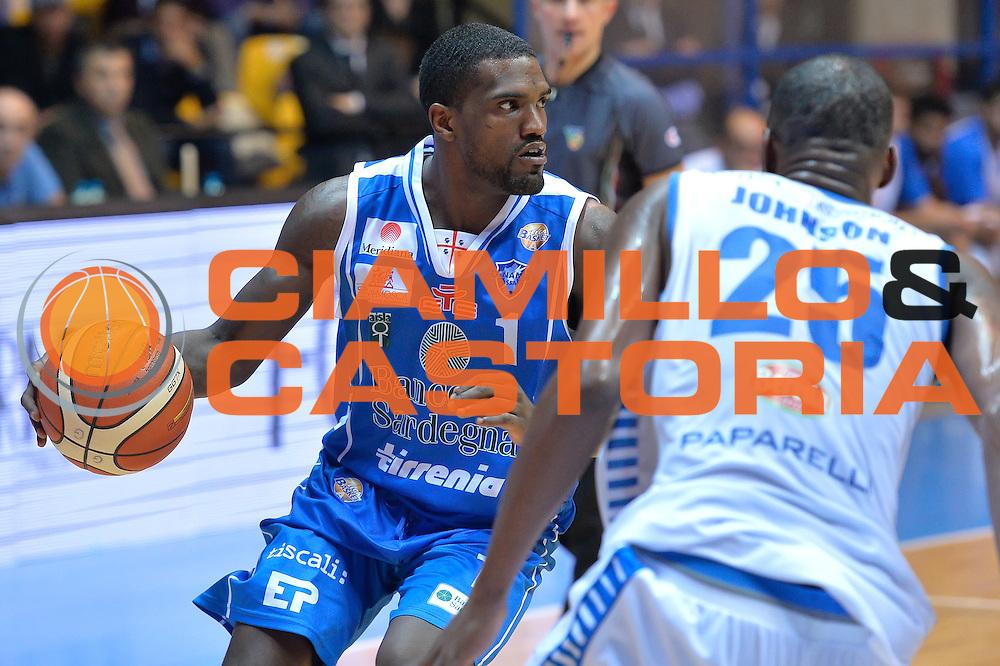 darius Johnson-Odon<br /> Red October Cantu' vs Banco di Sardegna Sassari<br /> Basket Serie A 2016/2017<br /> Milano 23/10/2016<br /> Foto Ciamillo-Castoria