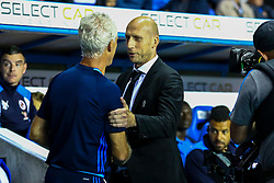 Reading manager Jaap Stam greets Ipswich Town manager Mick McCarthy - Mandatory by-line: Jason Brown/JMP - 09/09/2016 - FOOTBALL - Madejski Stadium - Reading, England - Reading v Ipswich Town - Sky Bet Championship