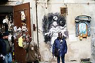 Napoli, Italia -ImmigratI nel centro storico della città di Napoli..Ph. Roberto Salomone Ag. Controluce