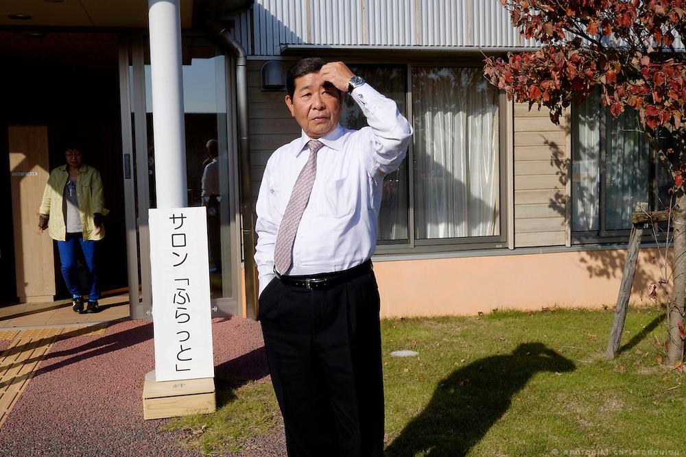 Kazuya MATSUMOTO: manager in the public welfare office.