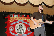 Billy Bragg performing at a social after the David Jones Joe Green Memorial Lecture, Barnsley...© Martin Jenkinson, tel 0114 258 6808 mobile 07831 189363 email martin@pressphotos.co.uk. Copyright Designs & Patents Act 1988, moral rights asserted credit required. No part of this photo to be stored, reproduced, manipulated or transmitted to third parties by any means without prior written permission