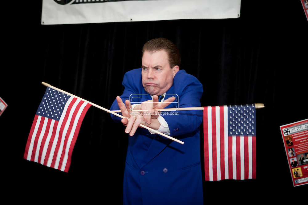 24th February 2011. Las Vegas, Nevada.  Celebrity Impersonators from around the globe were in Las Vegas for the 20th Annual Reel Awards Show. Pictured is Darrell A. Duffey as US President Nixon. Photo © John Chapple / www.johnchapple.com..