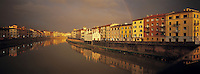 Italie, Pise, Fleuve Arno. // Arno river - Pise - Tuscany - Italy