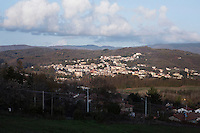 SOVERIA MANNELLI, ITALY - 17 NOVEMBER 2016: A view of Soveria Mannelli, a mountain-top village in the southern region of Calabria that counts 3,070 inhabitants, Italy, on November 17th 2016.<br /> <br /> The town was a strategic outpost until the 1970s, when the main artery road from Naples area to Italy's south-western tip, Reggio Calabria went through the town. But once the government started building a motorway miles away, it was cut out from the fastest communications and from the most ambitious plans to develop Italy's South. Instead of despairing, residents benefited of the geographical disadvantage to keep away the mafia infiltrations, and started creating solid businesses thanks to its administrative stability, its forward-thinking mayors and a vibrant entrepreneurship numbering a national, medium-sized publishing house, a leading school furniture manufacturer and an ancient woolen mill.