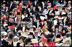 Royal Ascot Crowds June 2012