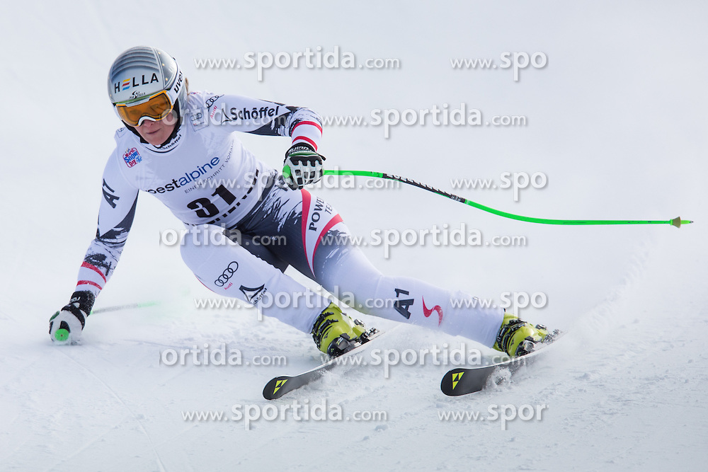 11.01.2014, Kalberloch, Zauchensee, AUT, FIS Ski Weltcup, Abfahrt, Damen, Bewerb, im Bild Nicole Hosp (AUT) // Nicole Hosp of Austria in action during ladies downhill of the Altenmarkt Zauchnesee FIS Ski Alpine World Cup at the Kaelberloch course in Zauchensee, Austria on 2014/01/11. EXPA Pictures © 2014, PhotoCredit: EXPA/ Johann Groder