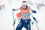 DAVOS, SCHWEIZ - 2016-12-09: Emma Wiken under tr&auml;ning inf&ouml;r Viessmann FIS Cross Country World Cup den 9 december, 2016 i Davos, Schweiz. Foto: Nils Petter Nilsson/Ombrello<br /> ***BETALBILD***