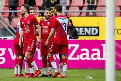 11-03-2018 NED: FC Utrecht - Vitesse, Utrecht<br /> Utrecht verslaat met 5-1 Vitesse / Zakaria Labyad #10 of FC Utrecht scoort de 2-0