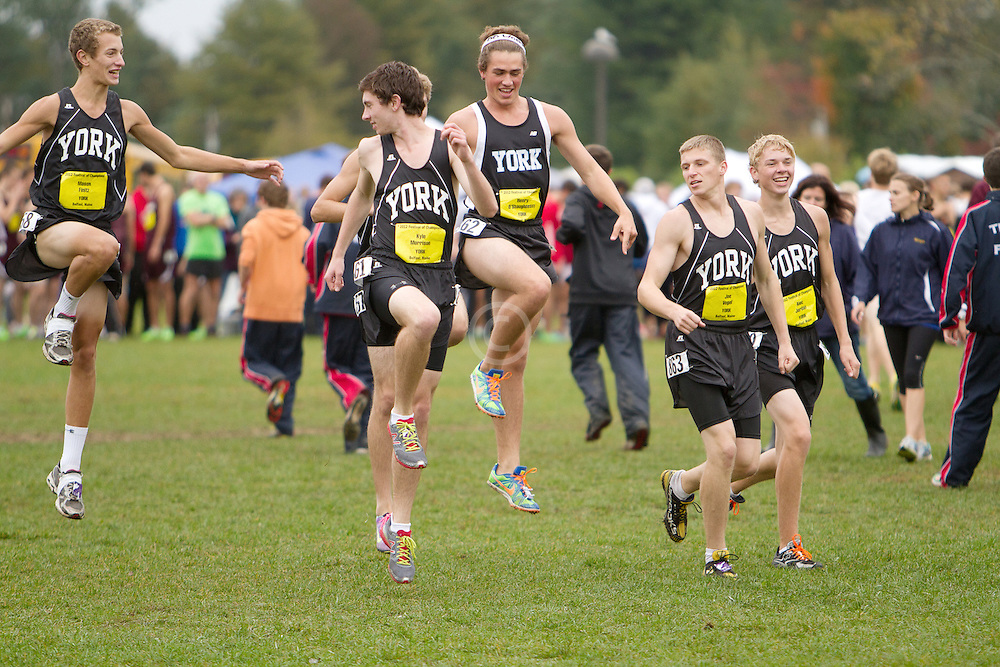 Festival of Champions High School Cross Country meet, York