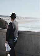 David Gutierez at the beach in San Fransisco California