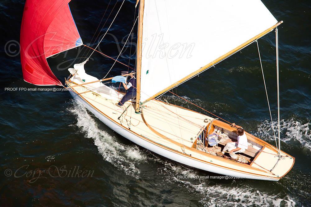 S Class Dirigo racing at the Museum of Yachting Classic Yacht Regatta