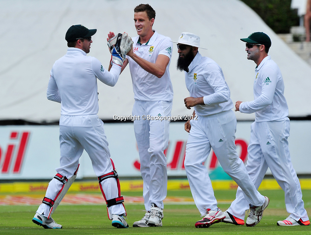 during day 2 of the Sunfoil Test Series 2014/15 game between South Africa and the West Indies at Newlands Stadium, Cape Town on 3 January 2015 ©Ryan Wilkisky/BackpagePix